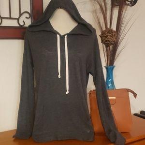 AEO Charcoal Sweatshirt Tee. Size XS.